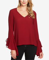 1 STATE 1.STATE Cascade-Sleeve Top