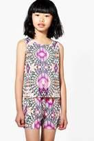 boohoo Girls Multicolour Shirts & Cami Co-ord Set multi