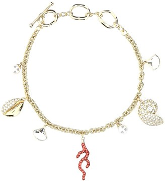 Swarovski Shell Coral Bracelet