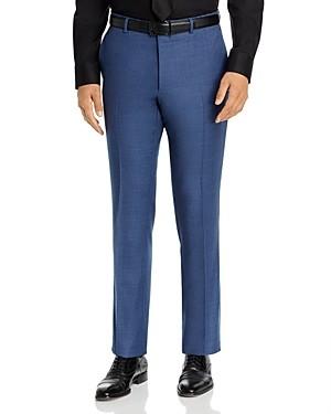 John Varvatos Street Melange Solid Slim Fit Suit Pants