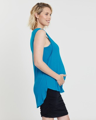 Angel Maternity 2-Pack Maternity Swing Nursing Tank