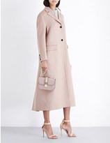 Valentino Buttoned-cuff wool and cashmere-blend coat