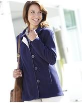 Fleece Button Jacket