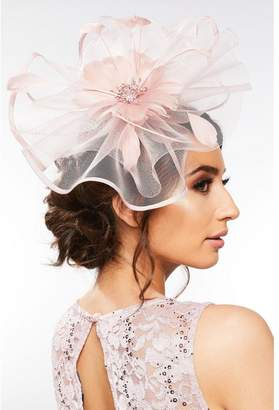 Quiz Mauve Flower Headband Fascinator
