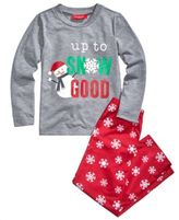 Family Pajamas Snowflake Meltdown Pajama Set, Big Boys' or Big Girls' (4-16), Created for Macy's