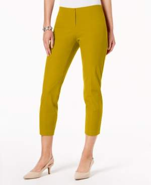 Alfani Petite Hollywood-Waist Skinny Ankle Pants, Created for Macy's