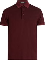 Ermenegildo Zegna Cotton-piqué polo shirt