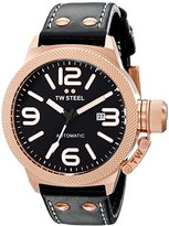 TW Steel Unisex TWA958 Canteen Auto Analog Display Automatic Self Wind Black Watch