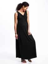 Old Navy Maternity Twist-Front Jersey Maxi Dress