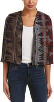 Anama Patterned Wool-Blend Jacket