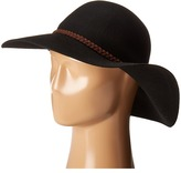Scala Wool Felt Floppy with Suede Traditional Hats
