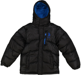 U.S. Polo Assn. Black & Blue Puffer Coat - Boys