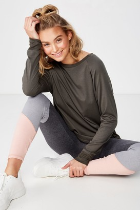 Body Active Rib Long Sleeve Top