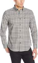 Nautica Men's Long Sleeve Wrinkle Resistant Twill Plaid Shirt