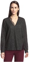 Thakoon Women's Lace Detail Pullover