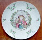 Royal Doulton 1978 Christmas Plate Red Riding Hood
