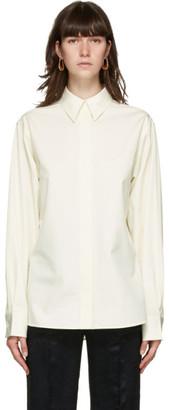 Jil Sander Off-White Cotton Poplin Shirt