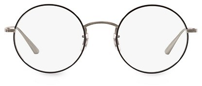 Oliver Peoples The Row After Midnight 49MM Round Clear Lens Glasses