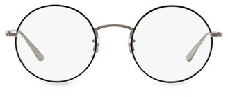 Oliver Peoples The Row The Row After Midnight 49MM Round Clear Lens Glasses