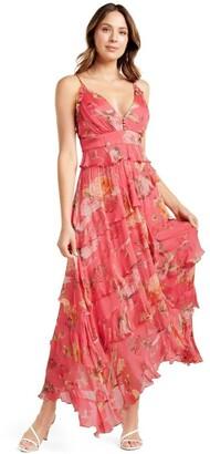 Forever New Delilah Ruffle Midi Dress