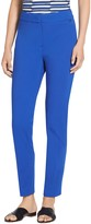 St. John Fine Stretch Twill Ankle Length Pants
