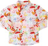 Anne Kurris Frog Printed Cotton Poplin Shirt