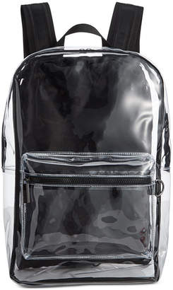 Steve Madden Men Clear Backpack