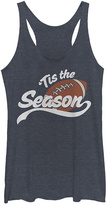 Fifth Sun Navy Heather ''Tis the Football Season' Racerback Tank