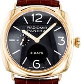 Panerai Radiomir PAM00197 18K Rose Gold 8 Days Power Reserve