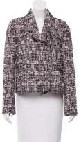 Giamba Metallic-Accented Tweed Jacket w/ Tags