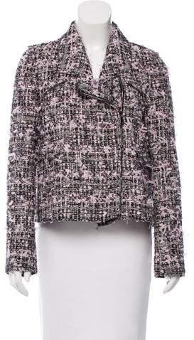 Giamba Metallic-Accented Tweed Jacket w/ Tags