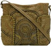 Jamin Puech floral detail tote - women - Leather/Acrylic/Acetate/Cotton - One Size