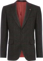 Remus Uomo Check Formal Blazer