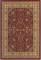 "Couristan Area Rug Tamena TAM182 Mashad Red 2'7"" x 7'10"" Runner Rug"