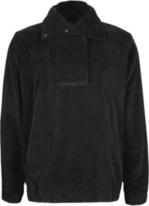 Format WIND Black Corduroy Windbreaker - S - Black