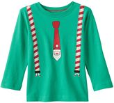 Baby Boy Jumping Beans® Long Sleeve Christmas Graphic Tee