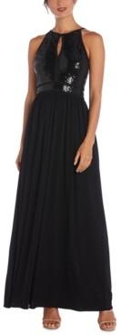 Morgan & Company Juniors' Sequin Gown