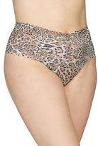 Hanky Panky Plus Leopard Print Retro Thong Panties