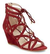 Kenneth Cole Dylan Lace-Up Wedge Sandals