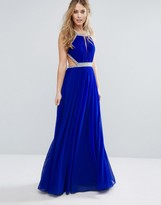 Forever Unique Maxi Dress with Embellishment