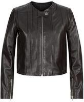 Sandro Fes Leather Jacket