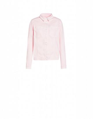 Love Moschino Stretch Jacket Woman Pink Size 38 It - (4 Us)