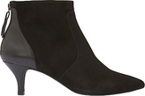 Mint Velvet Lucie Kitten Heeled Ankle Boots, Black