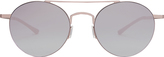 Kyme Mirrored Round Sunglasses