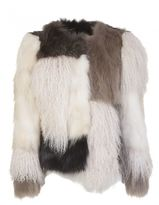 Giorgio Brato Raccoon And Goat Fur Jacket