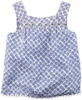 Carter's Woven Fashion Top (Toddler/Kid) - Blue - 8