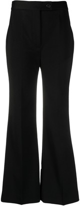 Victoria Victoria Beckham High-Rise Flared Trousers