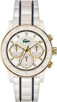 Lacoste Women's Charlotte White Chronograph Watch 2000845