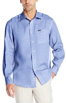 Façonnable Men's Linen Long-Sleeve Shirt