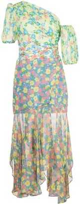 AMUR Jaylah floral-print dress